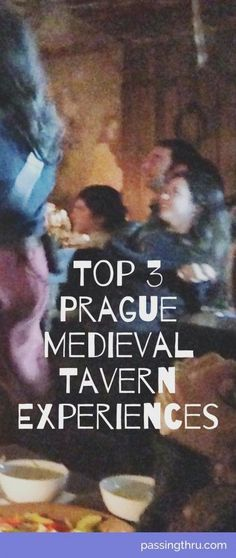 A night out at a Prague Medieval Tavern is great fun. Fabulous food and drink while sit amongst sword fights, magicians, fortune tellers and snake charmers. #Medieval #Tavern #Prague, #Czech, #Europe #Travel