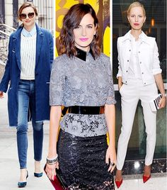 10 Celebrity-Inspired Styling Tips For A More Fashionable Spring via @WhoWhatWear