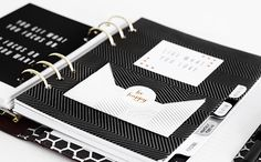 Add this cute DIY envelope to keep your Planner neat & tidy. Click to read more Planner organisation tips.