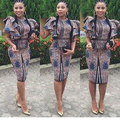 is an African fashion and lifestyle website that showcase trendy styles and designs, beauty, health, hairstyles, asoebi and latest ankara styles. Ankara Dress Styles, Latest Ankara Styles, Latest African Fashion Dresses, African Print Dresses, African Dresses For Women, African Print Fashion, Africa Fashion, African Wear, African Women