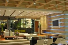 Image detail for -Glass House by Nico Van Der Meulen Modern Living Room - House Design ...