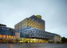 The new Library of Birmingham - outside