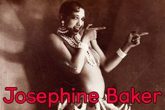 """Josephine Baker (3 June 1906 – 12 April 1975) was an American-born French dancer, singer, and actress who came to be known in various circles as the """"Black Pearl,"""" """"Bronze Venus"""" and even the """"Creole Goddess"""". Born Freda Josephine McDonald in St. Louis, Missouri, Josephine Baker became a citizen of France in 1937. She was...Read More »"""