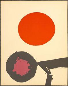 Luis Feito. Fez. 1973 Litografía XVVII/XXV. 76 x 56 cm.