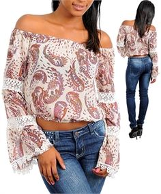 C95-B-T3345 IVORY BRICK PURPLE TOP $24.50