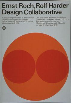 Ernst Roch, Rolf Harder poster, 1970