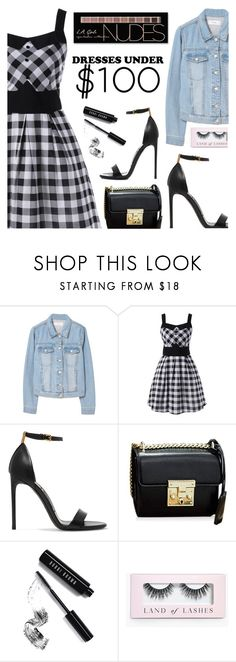"""Under $100: Summer Dresses"" by dora04 ❤ liked on Polyvore featuring MANGO, Tom Ford, Bobbi Brown Cosmetics, Boohoo, Charlotte Russe, under100 and rosegal"