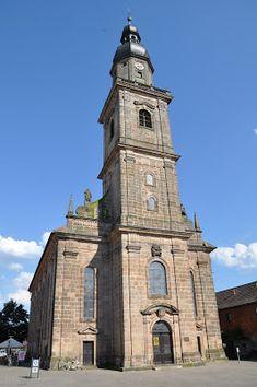 The Main Church in Erlangen, Germany