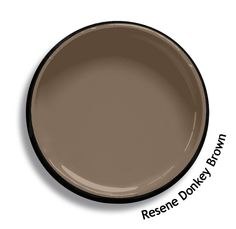 Resene Donkey Brown is a hardworking surefooted mid brown. From the Resene Karen Walker Paints colour range. Try a Resene testpot or view a physical sample at your Resene ColorShop or Reseller before making your final colour choice. www.resene.co.nz/karenwalker.htm