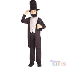 Boy's Costume: Abraham Lincoln-Large