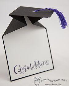 más y más manualidades: Invitaciones para graduación muy fáciles de hacer