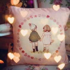 belle and boo - together cushion