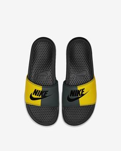 Nike Benassi for sale Nike Slides, Pool Slides, Nike Benassi Slides, Van Gogh Museum, Bape, Sock Shoes, Slide Sandals, Cute Girls, Latest Trends