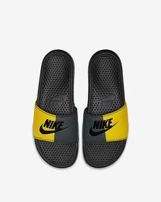 Nike Benassi for sale Nike Slides, Pool Slides, Nike Benassi Slides, Van Gogh Museum, Bape, Sock Shoes, Slide Sandals, Cute Girls, Latest Trends