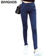 Washed Jeans Leggings //Price: $23.54 & FREE Shipping //     #onlineshopping #accessories