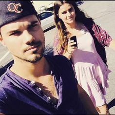 Taylor Lautner -HAPPY BIRTHDAY to my beautiful 18 year old sis! Love you @makenalautner