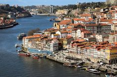 Today we spent the day exploring the Ribeira district along the Douro River in Porto Portugal. Tonight I am going to be looking for real estate rental ads just to see what is available! #travel #portugal