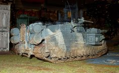 "Death Korps ""Stormlord"" Heavy Assault-Tank of the at the Cleansing of Radnar Hive. by Strelnikoff 