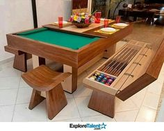 Pool table / dining table