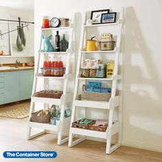 Our sophisticated Encore design is also quite a space-saver. With five graduated shelves, it makes a perfect bar, bookcase or display for collectibles. Each shelf features a gallery edge to keep items secure. Made of solid wood posts and melamine shelves. Free-standing design requires no hardware or anchors. Decor, Shelves, Home, Bookshelves, Colorful Apartment, Bookcase, Apartment Decor, Narrow Bookshelf, Colorful Apartment Decor