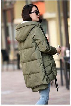Высокое качество Женская куртка с капюшоном зимний меховой воротник пальто, теплые пуховики женщин носить