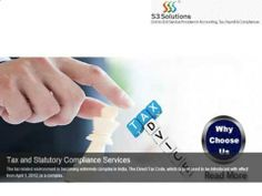 http://www.s3solutions.in/, Contact us at 8042042944 / 45 / 46, Email at info@s3solutions.in for Service Tax in Bangalore.
