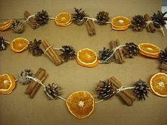 Orange & Cinnamon Garland