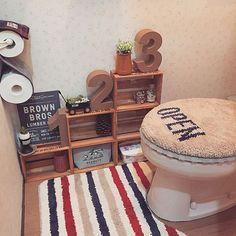 Diy Interior, Room Interior, Interior Decorating, Happy Home Designer, Toilet Design, Dream Bathrooms, Diy Design, Diy And Crafts, Cozy House