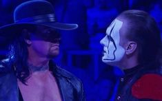 The Undertaker and Sting have yet to meet in the ring for a real match. Time passed them by and that contest seemed impossible. WWE's new cinematic style Vince Mcmahon, Wrestling News, Undertaker, Wwe Superstars, Funeral Directors