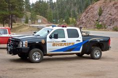 Chevy Police Truck