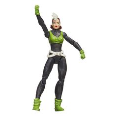 Marvel Legends Series 3.75in Marvel's Rogue. Marvel Super Heroes and Super Villains. Iconic figure with classic design. Create scenes and adventures from the Marvel Universe. Includes figure. Action figure size: 3.75 inches.