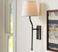Pottery Barn Kira Plug-In Sconce With Shade on shopstyle.com 149