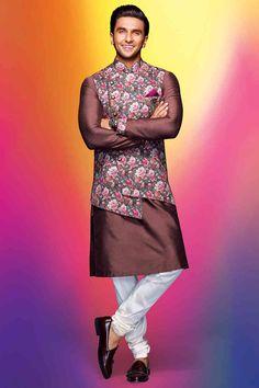 A timeless Kurta-jacket set Men Ethnic Wear India, India Fashion Men, Mens Indian Wear, Indian Men Fashion, Mens Fashion, Sherwani For Men Wedding, Wedding Dresses Men Indian, Wedding Dress Men, Wedding Outfits For Men