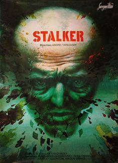 Soviet export poster for STALKER (Andrei Tarkovsky, USSR, 1979)Artist: TBDPoster source: KinoArt.net