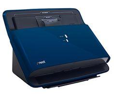 NeatDesk Desktop Document Scanner and Digital Filing System for PC and Mac – Premium Bundle Blue