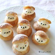 2018.2.1 * #hellofebruary ♥︎◟⌣̈⃝◞♥︎ * * Today's sweets is, Korillakuma #Creampuff ♪♪ * * 今日の子供たちのおやつ🍭🍭🍭 * 久しぶりにシュークリームを作ってみました ฅ՞•ﻌ•՞ฅ✨ * とろとろなコリラックマ達…♡♡ 甘さ控え目に作ったので、あっという間に子供たちが食べてしまいました(๑˃̵ᴗ˂̵) 2月スタート❣️ 今月もよろしくお願いします◡̈⃝︎⋆︎* * いつも見て下さっている皆様♡ ありがとうございます✩︎⡱ 引き続き、良い一日を•*¨*•.¸¸♬ * * #今日のおやつ#おやつ#クッキングラム#デリスタグラマー#コッタ#こどもおやつ#ママリスタイル#シュークリーム #手作りおやつ#お菓子作り#コリラックマ#リラックマ#プチシュー#キャラフード #暮らしを楽しむ#笑顔の食卓#きらきらバレンタイン #キャラ弁#homemade#sweets#instafood #kawaiifood#cutefood#foodie#rilakkuma #korilakkuma…