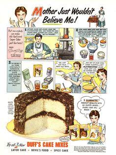 retro food | Lulu's Vintage Blog: Vintage Food & Restaurant Ads