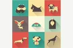 Vector dogs by vectorprro on Creative Market