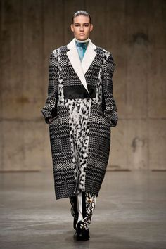 Fall 2013 Runway Report: Checkmate. getting in and out of the car might become a project.