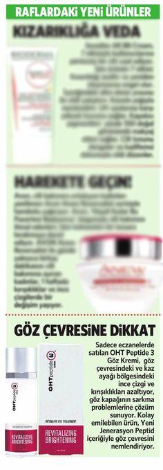 OHT Peptide 3 - Göz Kremi Milliyet Gazetesi'nde...