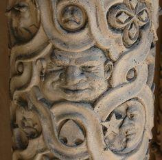 Yerkes Terra Cotta | Detail of an ornamental terra cotta pil… | Flickr
