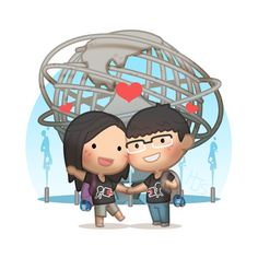 Here you'll find the commission artworks that was drawn for some of the many awesome couples and supporter of HJ-Story! Check out more commissions at the commission page! Cute Love Stories, Love Story, Love Is Sweet, What Is Love, Distant Love, Cute Couple Cartoon, Chibi Couple, Hj Story, Cute Romance
