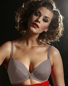 Gok Wan Banger Booster multiway plunge bra in Sweet Slate, sizes 30-32 B-G, 34-42 A-G, 44 A-E, 46 A-C (US sizing, approx. A-FF in UK sizes). #ddplus #40band #42band #44band #46band