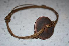 Button Bling Bracelet  See a Penny Pick it Up by weeworks on Etsy, $2.00