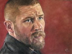 Val Simms Art - Icons and Celebrities.  Tom Hardy