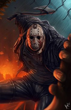 Jason Friday the 13th by PROSSCOMICS on Etsy, $15.00