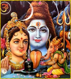 Parvati, Shankar,Ganesh with Shivling Lord Shiva Pics, Lord Shiva Hd Images, Shiva Lord Wallpapers, Lord Shiva Family, Shiva Parvati Images, Lakshmi Images, Shiva Shakti, Shiva Art, Ganesha Art
