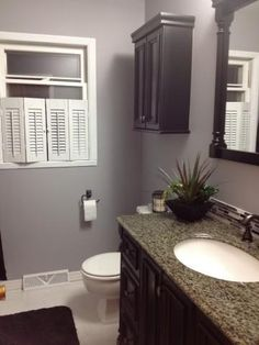 Our remodeled bathroom