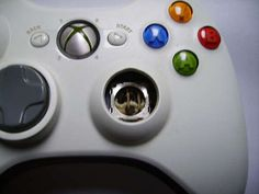 See, it's even possible to repair a broken controller.