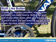 Cycling - Shift Like Butter